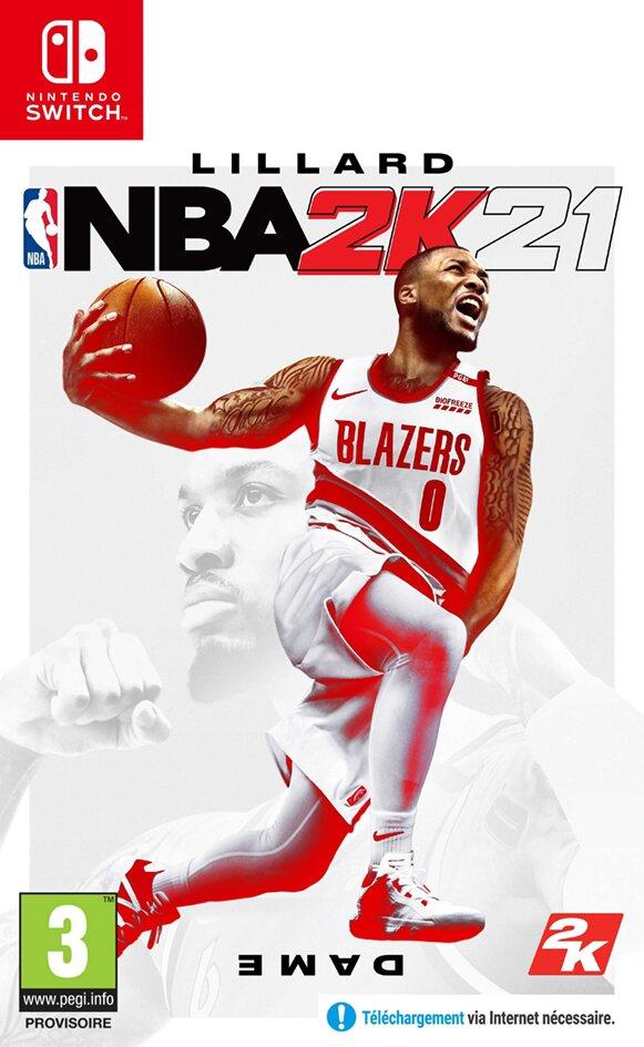 Nintendo Switch NBA 2K21 ENG/FR