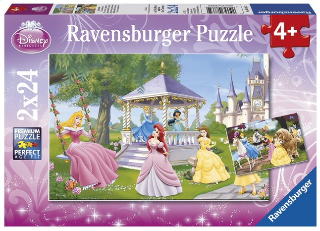 Afbeelding van Ravensburger puzzel 2-in-1 Betoverende Disney-prinsessen from DreamLand