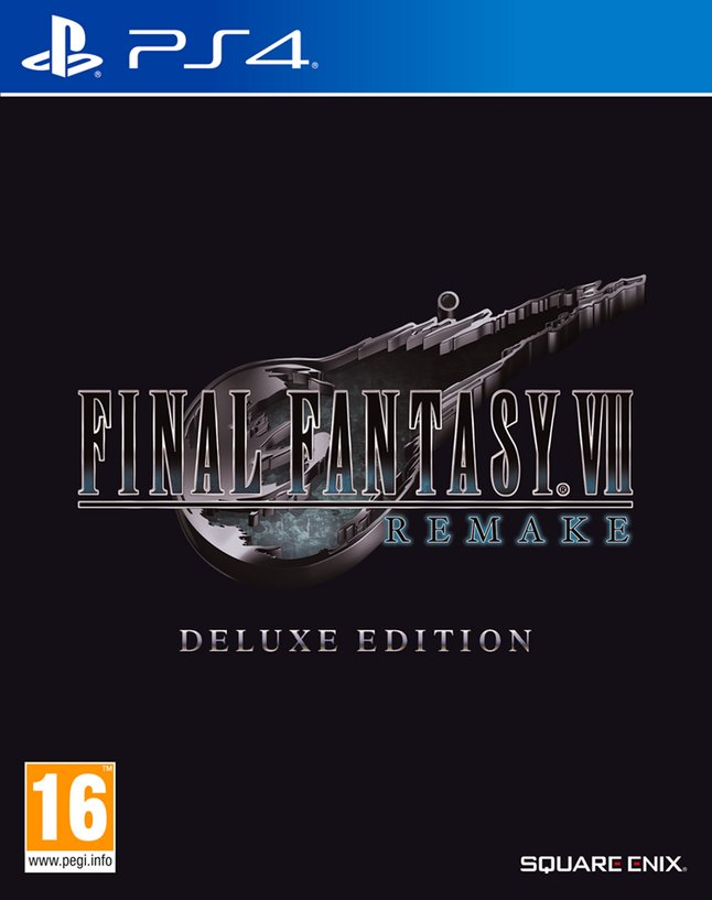 PS4 Final Fantasy VII Remake Deluxe Edition FR/ANG