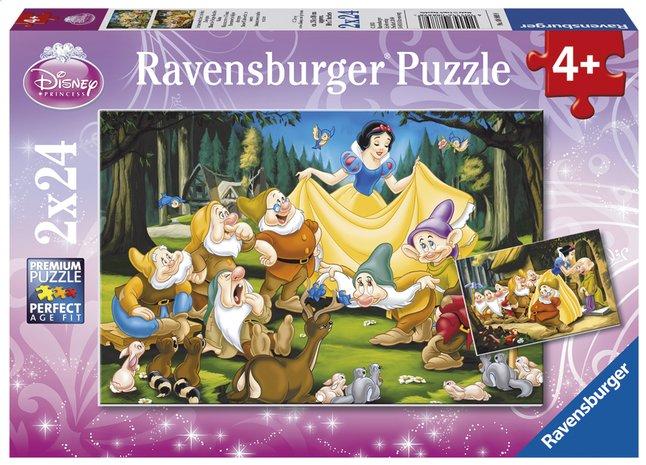 Image pour Ravensburger puzzle 2 en 1 Blanche-Neige et les 7 nains à partir de DreamLand