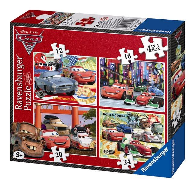 Image pour Ravensburger puzzle évolutif 4 en 1 Cars 2 à partir de DreamLand