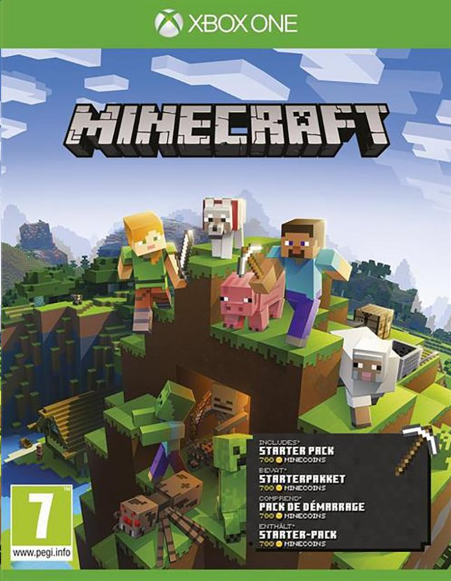Xbox One Minecraft Starter Collection FR/ANG