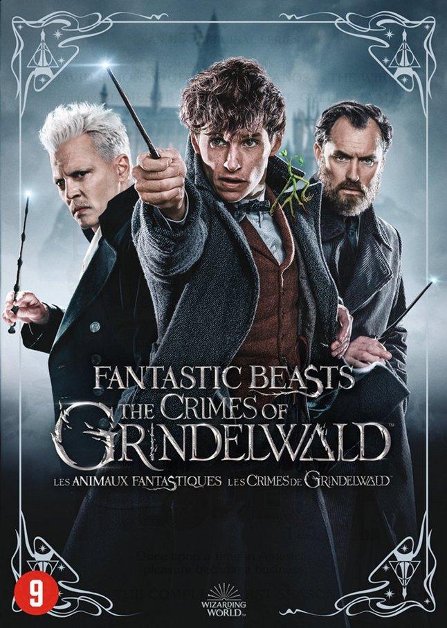 Afbeelding van Dvd Fantastic Beasts The Crimes of Grindelwald + kaarten from DreamLand