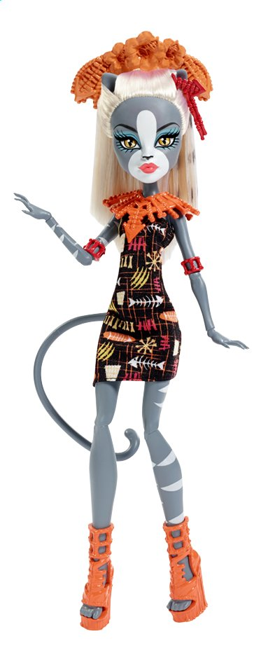 Afbeelding van Monster High mannequinpop Ghoul's Getaway Meowlody from DreamLand