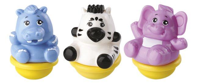 Image pour VTech ZoomiZooz Trio Animaux assortis - zèbre, hippopotame, éléphant à partir de DreamLand