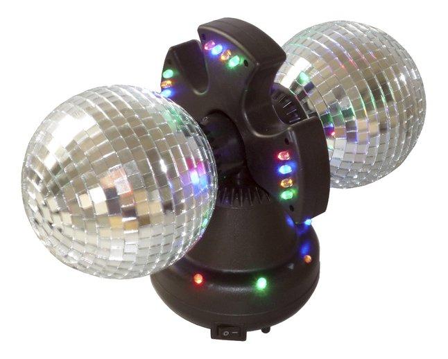 Afbeelding van Discobal met 2 roterende spiegelballen from DreamLand