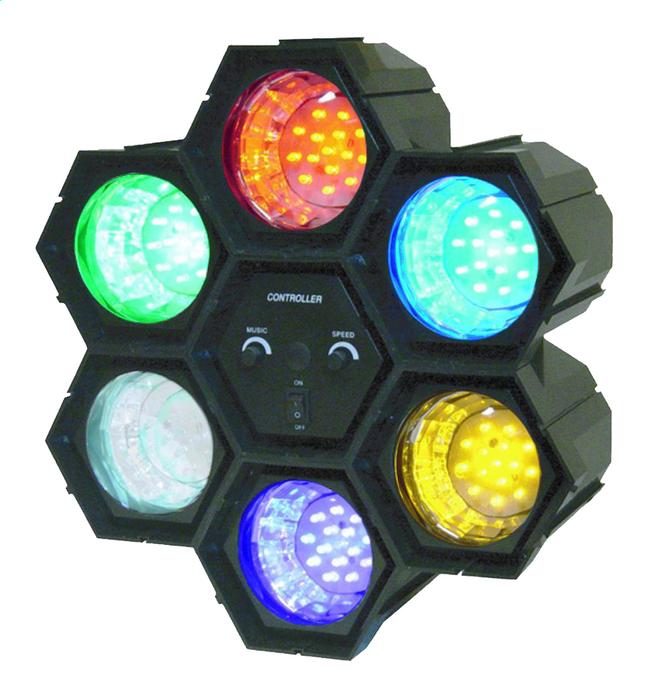 Afbeelding van ibiza led lichteffect 6 lampen running light from DreamLand