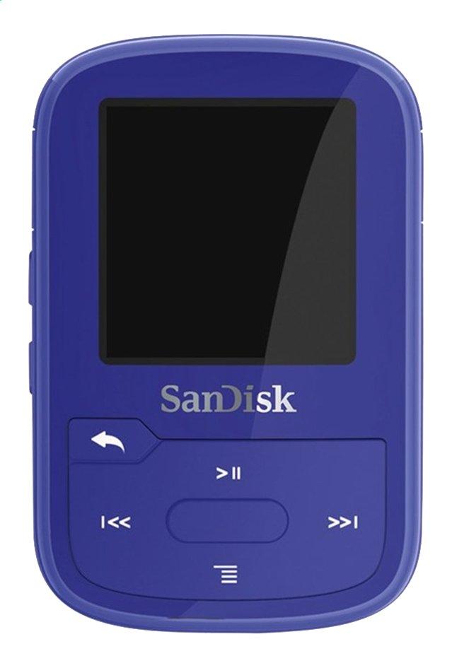 Image pour SanDisk lecteur MP3 Clip Sport Plus 16 Go bleu à partir de DreamLand