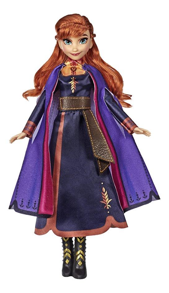 Poupée mannequin  Disney La Reine des Neiges II Anna chante