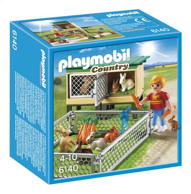 Image pour Playmobil Country 6140 Enfant avec enclos à lapins et clapier à partir de DreamLand