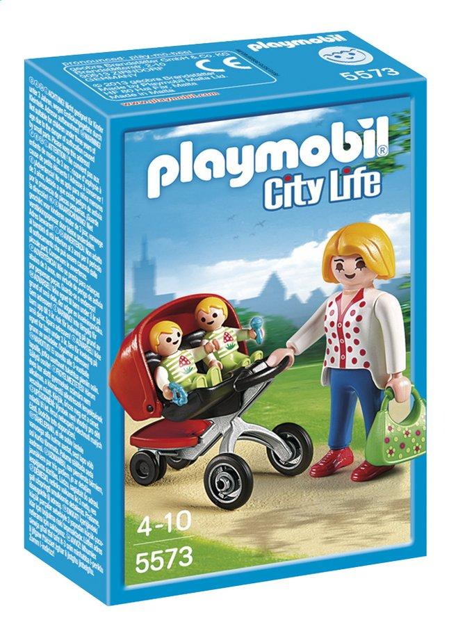 Afbeelding van Playmobil City Life 5573 Tweeling kinderwagen from DreamLand