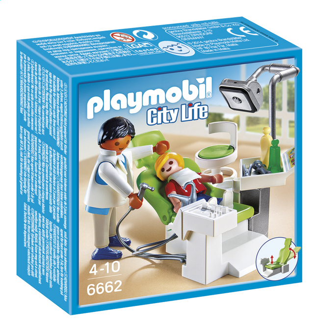 Afbeelding van Playmobil City Life 6662 Tandartskabinet from DreamLand