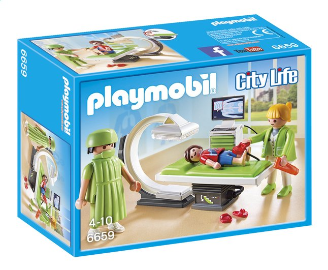 Afbeelding van Playmobil City Life 6659 Röntgenkamer from DreamLand