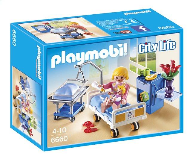 Afbeelding van Playmobil City Life 6660 Kraamkamer met babybed from DreamLand