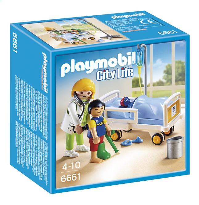 Afbeelding van Playmobil City Life 6661 Ziekenhuiskamer met arts from DreamLand