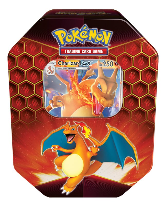 Pokémon Trading Cards Fall 2019 Tin Box Hidden Fates - Charizard GX ANG