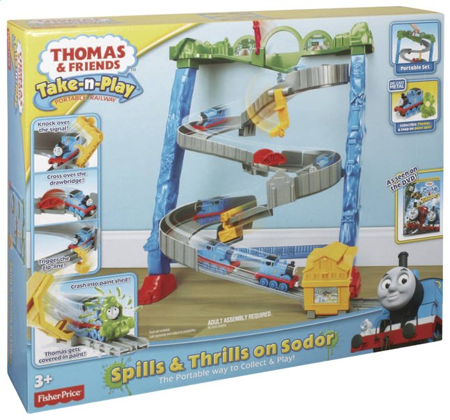 Image pour Fisher-Price set de jeu Thomas & ses amis Take-n-Play Spills & Thrills on Sodor à partir de DreamLand