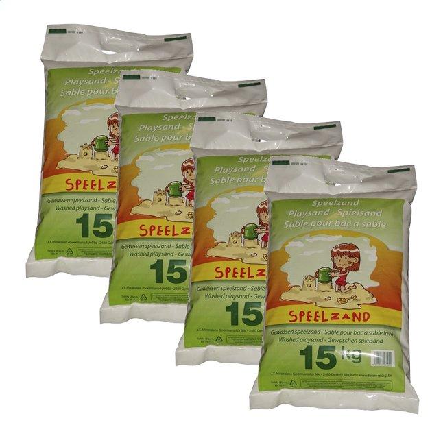 Sable blanc pour bac à sable 4 x 15 kg
