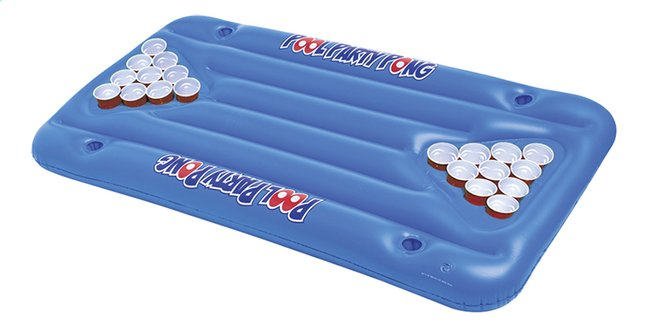 Afbeelding van BigMouth Luchtmatras voor 2 personen Pool Party Pong from DreamLand