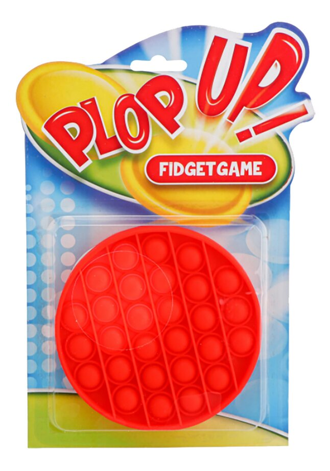 Plop Up! Pop It Fidget Toy Game
