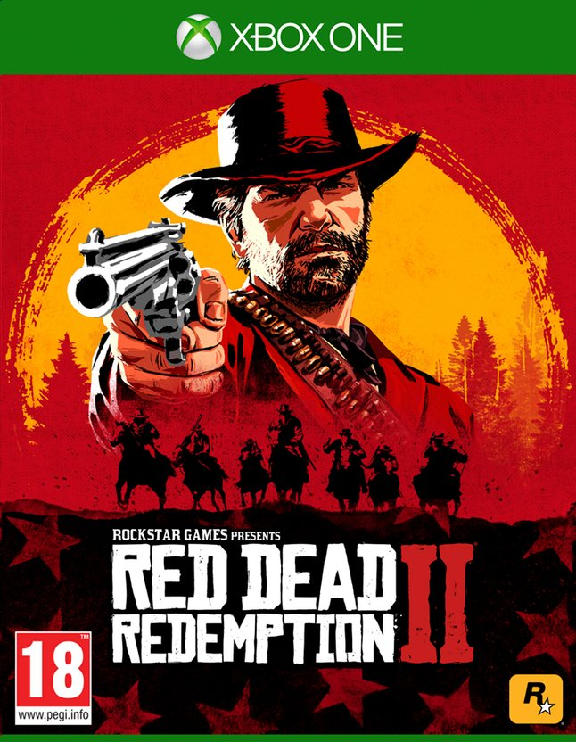 Xbox One Red Dead Redemption 2 FR