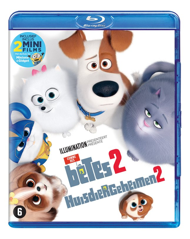 Afbeelding van blu-ray The Secret Life of Pets 2 from DreamLand