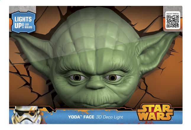Afbeelding van 3DLightFX muurlamp Star Wars Yoda from DreamLand