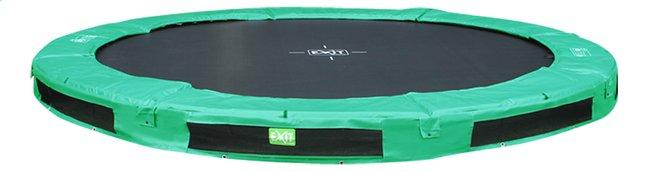 Afbeelding van EXIT inbouwtrampoline InTerra diameter 3,66 m groen from DreamLand
