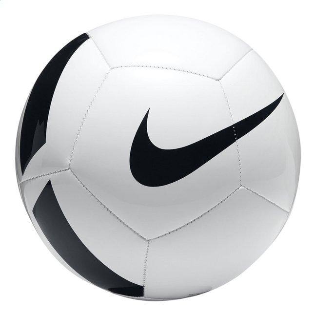 Nike ballon de football pitch team taille 5 blanc noir - Ballon de foot a imprimer ...