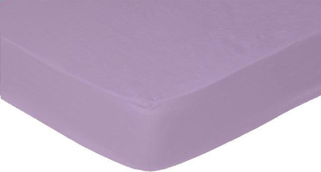 Image pour Sleepnight drap-housse mauve en flanelle 180 x 200 cm à partir de DreamLand