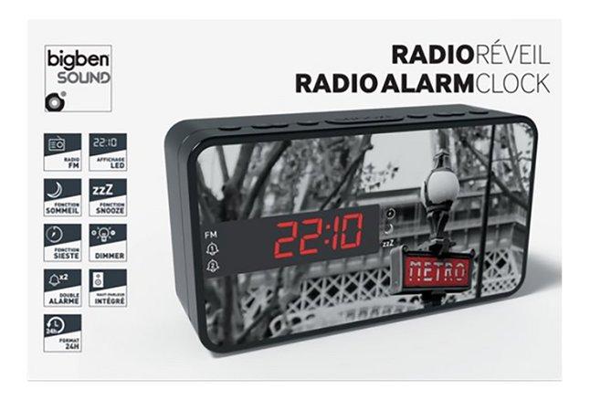 bigben radio-réveil RR15 Métro