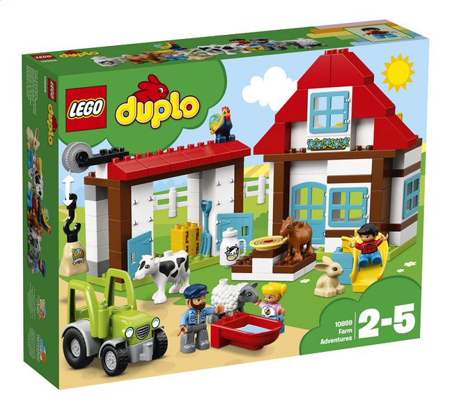 Afbeelding van LEGO DUPLO 10869 Avonturen op de boerderij from DreamLand