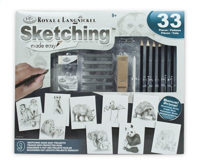 Afbeelding van Royal & Langnickel tekenkoffer Sketching Made easy from DreamLand