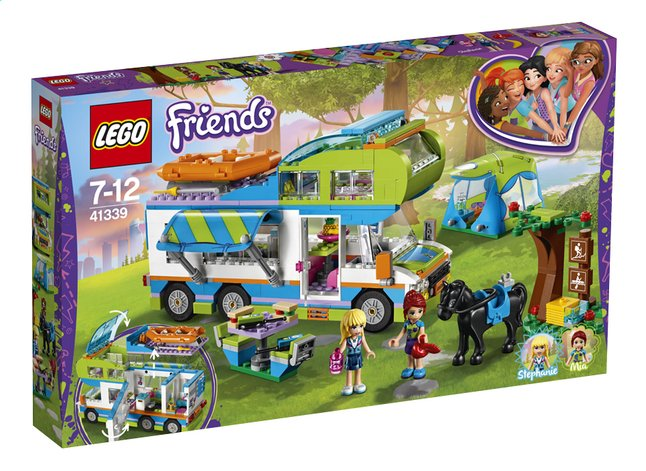 lego friends 41339 le camping car de mia dreamland. Black Bedroom Furniture Sets. Home Design Ideas