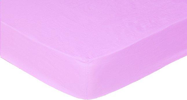 Image pour Sleepnight drap-housse lilas en jersey de coton 140 x 200 cm à partir de DreamLand