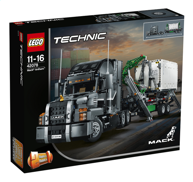 Afbeelding van LEGO Technic 42078 Mack Anthem from DreamLand