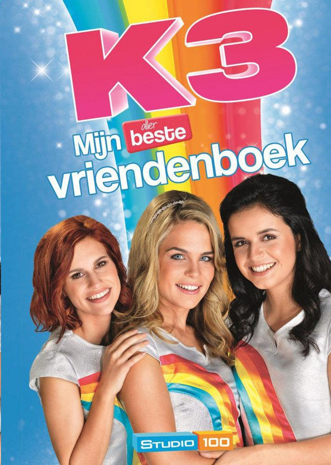 Afbeelding van K3 Mijn allerbeste vriendenboek from DreamLand