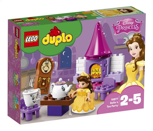 Afbeelding van LEGO DUPLO 10877 Belle's theekransje from DreamLand