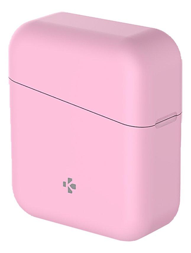 MyKronoz écouteurs Bluetooth ZeBuds Lite avec boîtier de charge rose