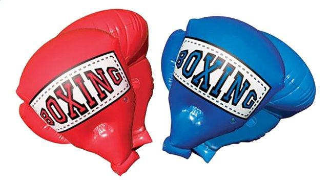 Afbeelding van Opblaasbare bokshandschoenen Mega Boxing Gloves rood/blauw from DreamLand