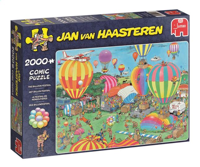 Afbeelding van Jumbo puzzel Jan Van Haasteren Het ballon festival from DreamLand