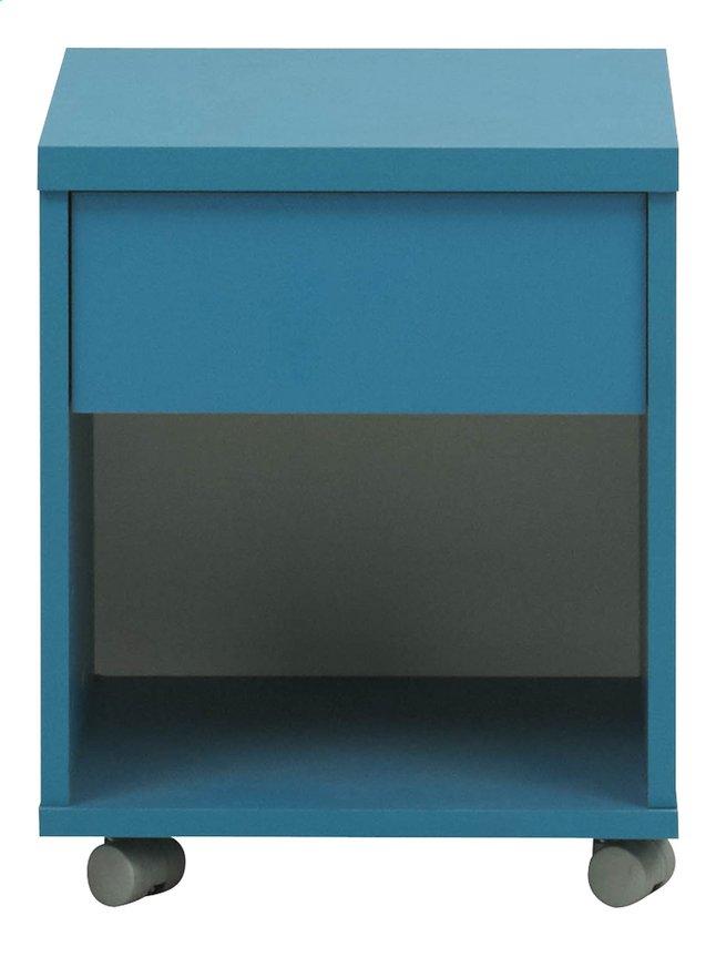 Image pour Table de nuit Babel bleu à partir de DreamLand
