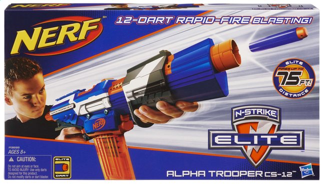 Afbeelding van Nerf blaster Elite Alpha Trooper CS-12 from DreamLand