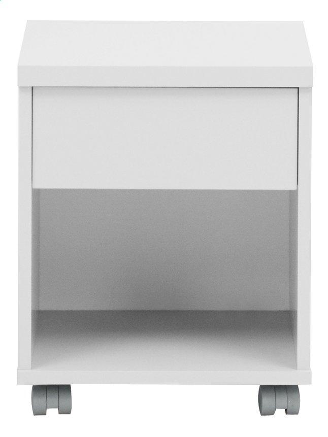 Image pour Table de nuit Babel gris à partir de DreamLand