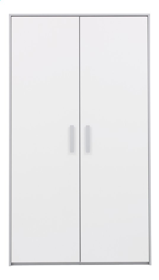 Image pour Garde-robe 2 portes Babel blanc à partir de DreamLand