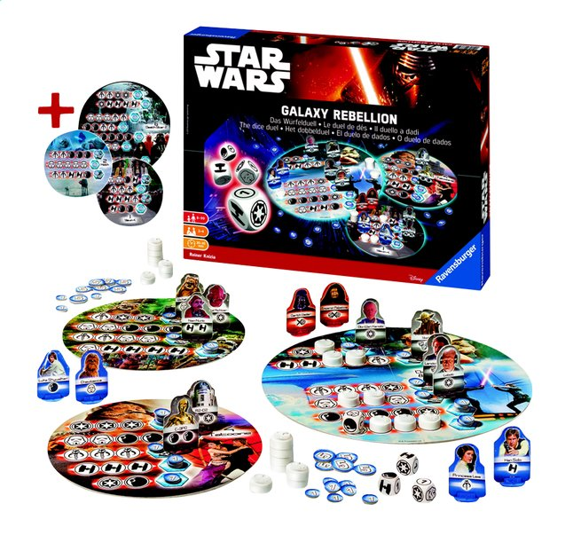 Afbeelding van Star Wars Dice Battle Game from DreamLand