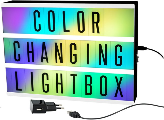 Afbeelding van Lightbox Color Changing A4 from DreamLand