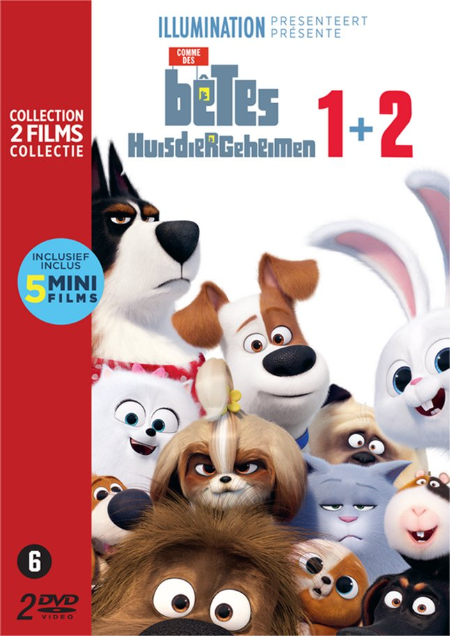 Afbeelding van Dvd The Secret Life of Pets 1&2 from DreamLand