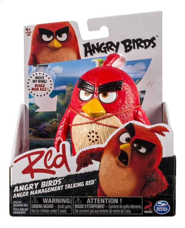 Image pour Figurine Angry Birds Management Talking Red à partir de DreamLand