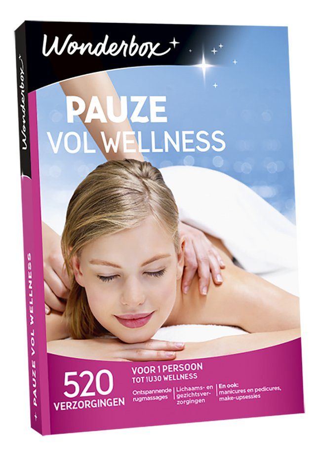 Afbeelding van Wonderbox Pauze vol wellness from DreamLand